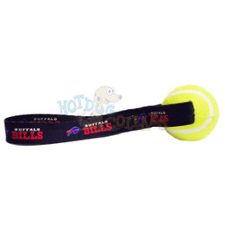 Buffalo Bills  Tennis Ball Tug Dog Toy