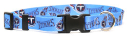 Tennessee Titans Logo Dog Collar