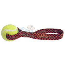 Cleveland Browns  Tennis Ball Tug Dog Toy