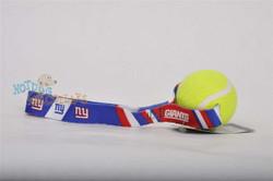N.Y. Giants  Tennis Ball Tug Dog Toy