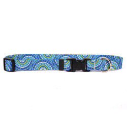 Radiance Blue Break Away Cat Collar
