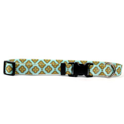 Cleo Blue Break Away Cat Collar