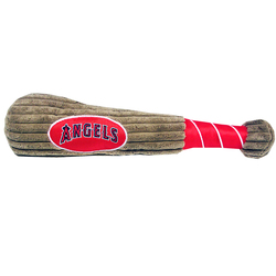 Anaheim Angels Baseball Bat Squeaker Dog Toy