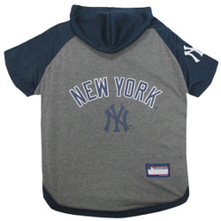 New York Yankees Hoodie T-Shirt For Dogs
