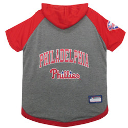 Philadelphia Phillies Hoodie T-Shirt For Dogs
