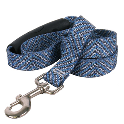 Blue Tweed EZ-Grip Dog Leash