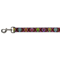 Sugar Skull Starburst Buckle Down Dog Leash