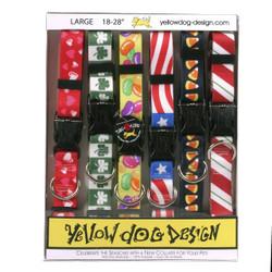 Seasonal Dog Collar Calendar Pack with Tag-A-Long