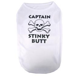 Captain Stinky Butt Pet T-Shirt