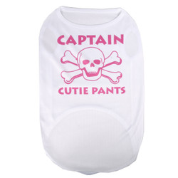 Captain Cutie Pants Pet T-Shirt