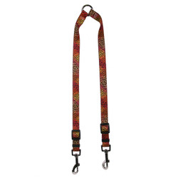 Flowerworks Red Coupler Dog Leash