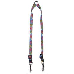 Hibiscus Paradise Coupler Dog Leash