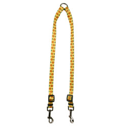 Pineapples Yellow Coupler Dog Leash