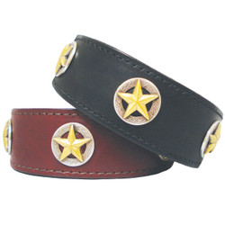 Lone Star Leather Dog COLLAR