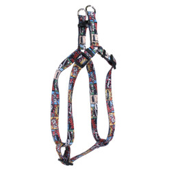 Vintage Comics Step-In Dog Harness