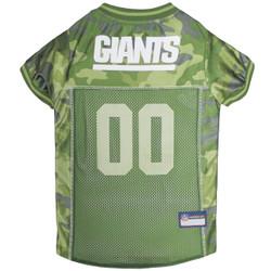 N.Y. Giants NFL Football Camo Pet Jersey