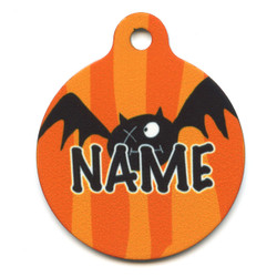 Dog Gone Batty HD Pet ID Tag