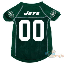 New York Jets NFL Football Dog Jersey - CLEARANCE