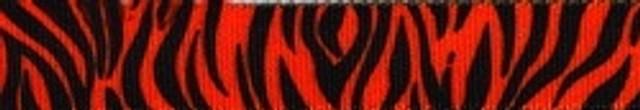 Zebra Rust Coupler Dog Leash
