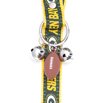 Green Bay Packers Pet Potty Training Bells