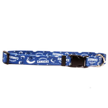 Vancouver Canucks Dog Collar