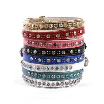 Deluxe Crystal Dog Collar