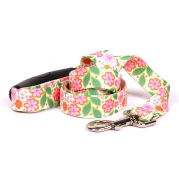 Flower Patch EZ-Grip Dog Leash