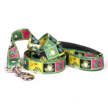 Frogs EZ-Grip Dog Leash