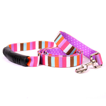 Multi-Stripe Uptown Dog Leash
