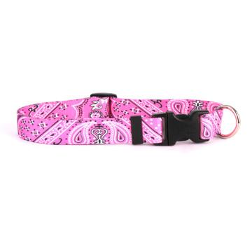 Bandana Pink Break Away Cat Collar