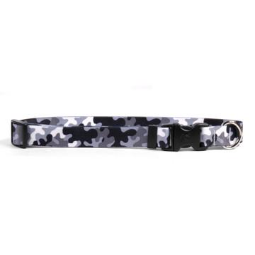 Black and White Camo Break Away Cat Collar