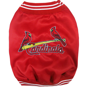 St. Louis Cardinals Dugout Team Jacket For Dogs