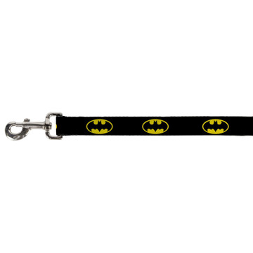 Batman Shield Black and Yellow Buckle Down Dog Leash
