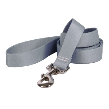 Gray Simple Solid Dog Leash