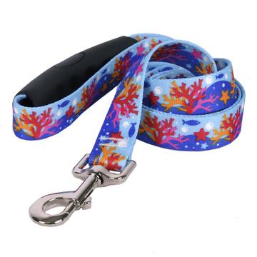 Coral Reef EZ-Grip Dog Leash