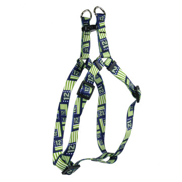 12th Dog Flags Step-In Dog Harness