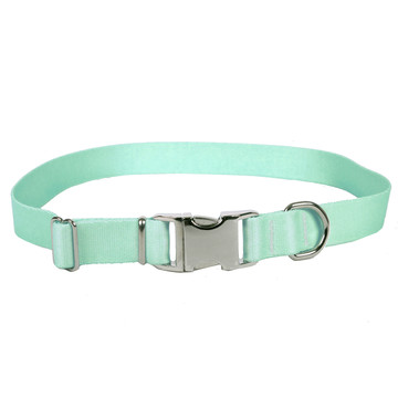 Sterling Solid Winter Frost Dog Collar
