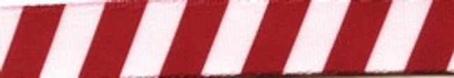 Team Spirit Crimson and White EZ-Grip Dog Leash