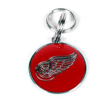 Detroit Red Wings NHL Dog Tags With Custom Engraving
