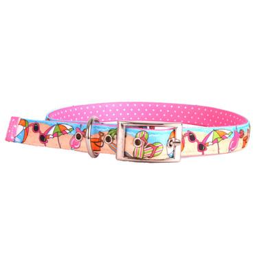 Beach Party Uptown Dog Collar