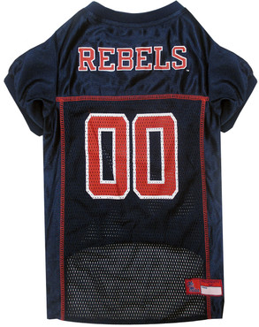 Mississippi (Ole Miss) Football Dog Jersey