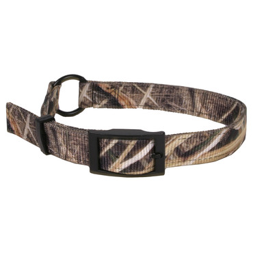 Real Tree Mossy Oak Blades Camouflage Buckle Dog Collar