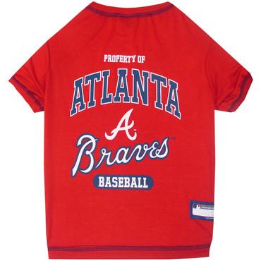 Atlanta Braves Tee Shirt For Dogs