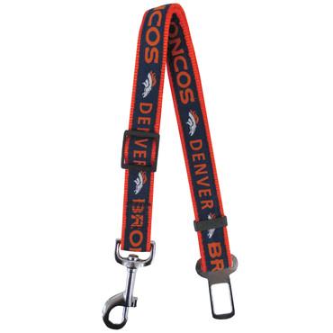 Denver Broncos Seat Belt Safety Restraint For Dogs