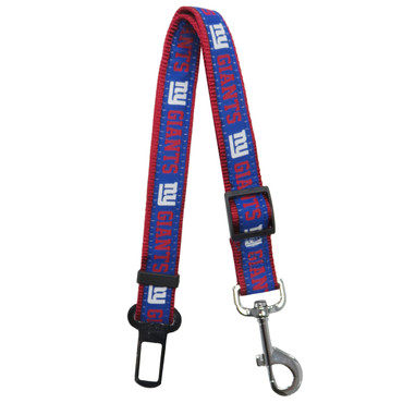 New York Giants Seat Belt Safety Restraint For Dogs