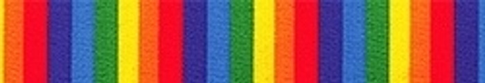 Rainbow Stripes Coupler Dog Leash