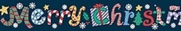 Merry Christmas Coupler Dog Leash