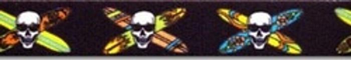Longboard Skulls Coupler Dog Leash