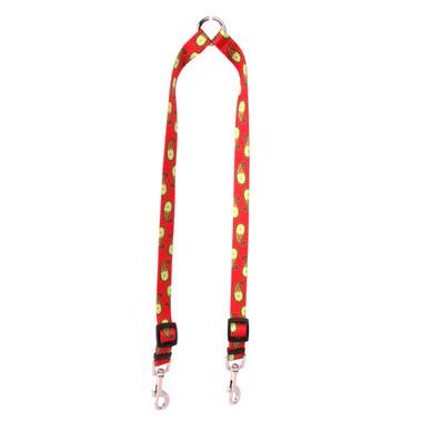 Holiday Paisley Coupler Dog Leash