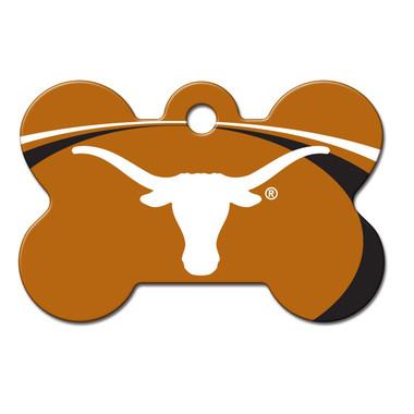 Texas Longhorns Engraved Pet ID Tag